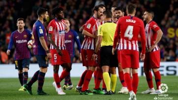 «Атлетико» и «Барселона» огласили заявки на очный поединок