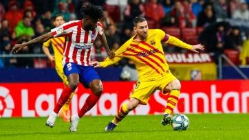 Месси вырвал для «Барселоны» победу над «Атлетико»