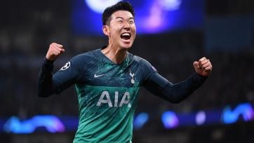 Сон Хын Мин назван лучшим азиатским игроком, выступающим вне пределов континента