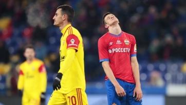 ЦСКА проиграл тульскому «Арсеналу», «Краснодар» и «Тамбов» сыграли вничью