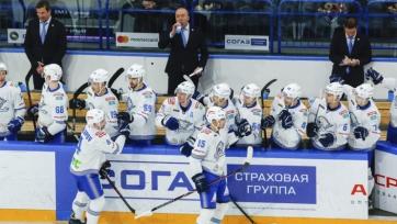 Оглашен состав «Барыса» на матчи КХЛ против «Сочи» и «Авангарда»