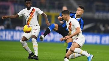 «Интер» и «Рома» разучились забивать голы и сыграли вничью