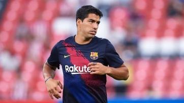 Чудо-гол Суареса на тренировке «Барселоны». Видео