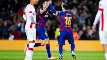 Хет-трик Месси помог «Барселоне» разгромить «Мальорку»