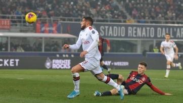«Милан» обыграл «Болонью» в матче с двумя пенальти и автоголом