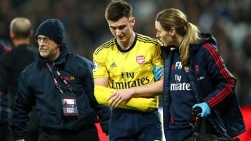 Защитник «Арсенала» выбыл на три месяца