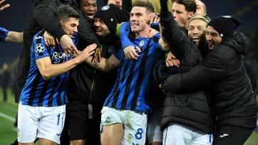 «Аталанта» уже хорошо заработала в своей дебютной Лиге чемпионов