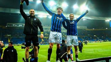Как фанаты «Аталанты» праздновали выход команды в плей-офф Лиги чемпионов. Видео