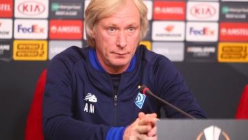 Михайличенко останется во главе «Динамо»