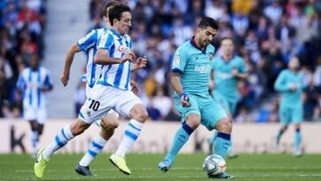 «Реал Сосьедад» оборвал победную серию «Барселоны»