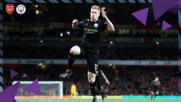 «Манчестер Сити» без особого труда переиграл «Арсенал»