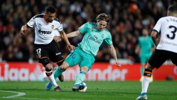 «Реал» на пятой компенсированной минуте вырвал ничью у «Валенсии»