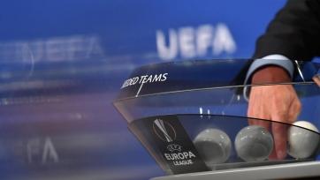 Сегодня в 15:30 мск начнется жеребьевка 1/16 финала Лиги Европы