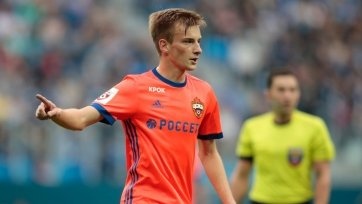 ЦСКА продлит контракт с полузащитником