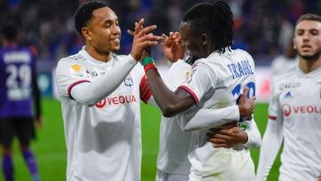 «Лион» прошел в четвертьфинал Кубка французской лиги, выбив «Тулузу»