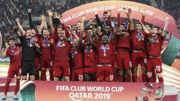 «Ливерпуль» празднует победу в Клубном чемпионате мира. Видео