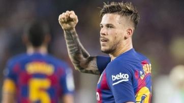 «Барселона» отправит в дубль своего форварда