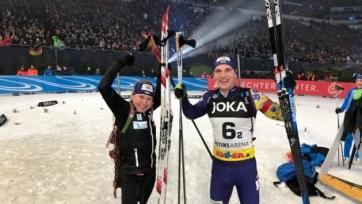 Украина финишировала второй в Рождественской гонке, Россия - последняя