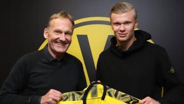 Официально: Холанд продолжит карьеру в Германии