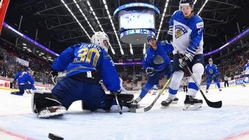 Хоккей. Казахстан крупно проиграл Финляндии в матче молодежного чемпионата мира