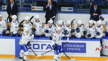 «Барыс» огласил состав на матчи КХЛ в Риге, Балашихе и Нижнекамске