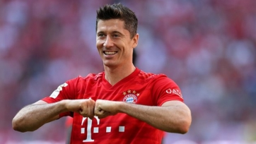 Левандовски назван лучшим игроком первого круга Бундеслиги-2019/2020