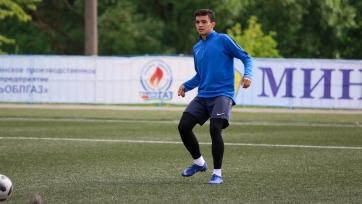 Казахстанский нападающий покинул белорусский клуб