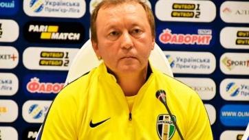 Шаран рассказал о новичках «Александрии» и планах команды на первый сбор