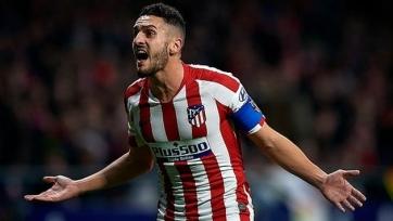 «Атлетико» сыграет в финале Суперкубка Испании без своего капитана