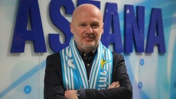 «Астана» получила нового наставника
