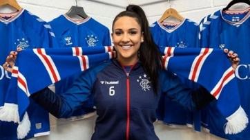 Женская команда «Рейнджерс» подписала футболистку, сразу покорившую всех фанатов клуба