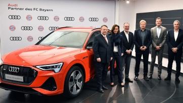 «Бавария» заключила новый спонсорский контракт с Audi