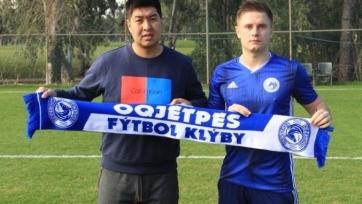 «Окжетпес» пополнился белорусским защитником
