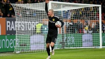 Холанд в дебютном матче за «Боруссию» Д оформил хет-трик и помог добыть клубу волевую победу