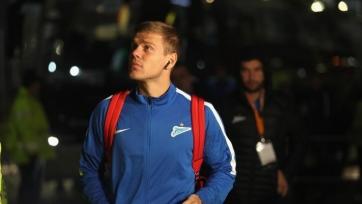 Кокорин забил гол «бисиклетой» на тренировке «Зенита». Видео