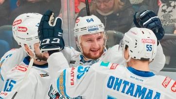 «Барыс» удачно погостил в Хельсинки
