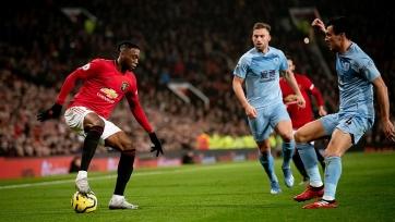 «Манчестер Юнайтед» на своем поле проиграл «Бернли»