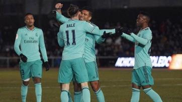 «Реал» вышел в 1/8 финала Кубка Испании