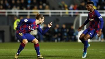 Стала известна причина удачной игры Гризманна в матче Кубка против «Ибицы». Видео