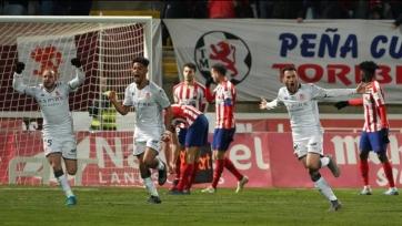 «Атлетико» вылетел из Кубка Испании от клуба третьего дивизиона