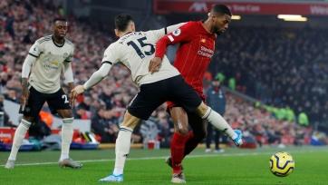 «Манчестер Юнайтед» оштрафован за поведение игроков в поединке против «Ливерпуля»