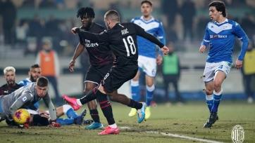 «Милан» выиграл третий матч кряду и поднялся на шестое место