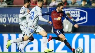«Осасуна» благодаря двум голам в концовке обыграла «Леванте», одержав первую победу с 1 декабря