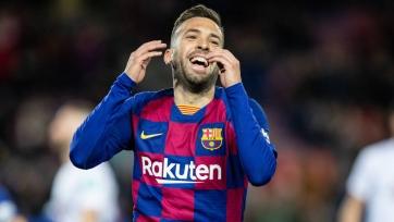 Жорди Альба – гроза вратарей «Барселоны»