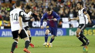 «Барселона» потерпела первое поражение при Сетьене