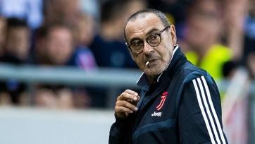 Фанаты «Наполи» в преддверии матча с «Ювентусом» приготовили баннер Сарри, назвав его ублюдком
