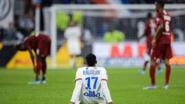«Ницца» в безумном матче против «Лиона» добыла три очка