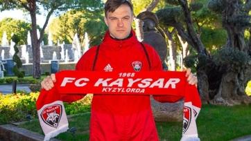 Обладатель Кубка Казахстана подписал российского защитника