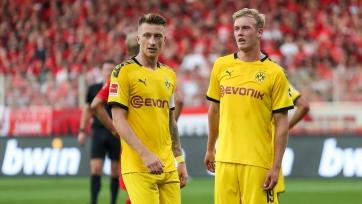 Два основных футболиста «Боруссии» не сыграют против «ПСЖ» в 1/8 финала Лиги чемпионов