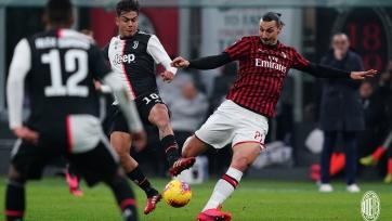 Гол Роналду в компенсированное время лишил «Милан» победы над «Ювентусом»